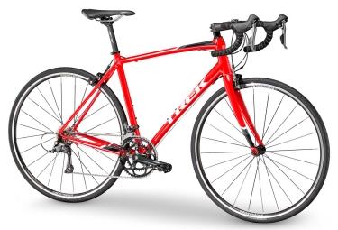 velo de route trek 2018 domane al 2 shimano claris 8v rouge blanc 56 cm 173 181 cm