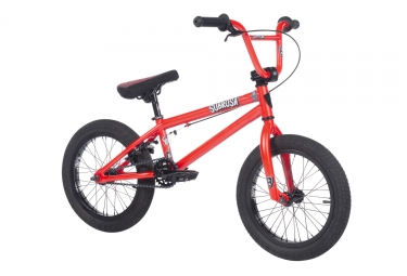 bmx freestyle subrosa altus 16 rouge 2018