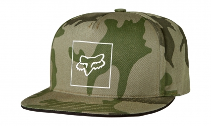 casquette fox crass camo