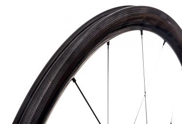 Paire de Roues Fulcrum Speed 40C Dark Carbone à Pneu | Shimano / Sram