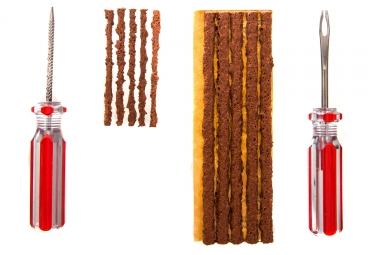 Kit de réparation MAXALAMI Maxi Tubeless Outil + 10 mèches