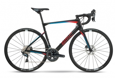 Velo de route bmc 2018 roadmachine 02 two shimano ultegra 11v noir rouge bleu 54 cm