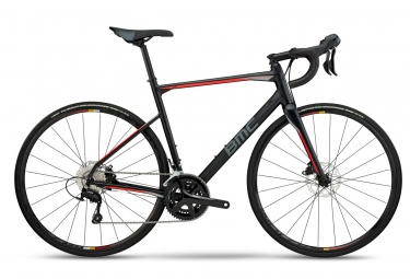 Velo de route bmc 2018 roadmachine 03 one shimano 105 11v noir gris rouge 56 cm 177