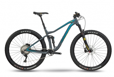MTB Doble Suspensión BMC Speedfox 03 One 27.5'' Gris / Bleu 2018