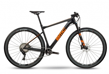 vtt semi rigide bmc 2018 teamelite 02 one shimano slx xt 11v noir orange gris m 172 182 cm
