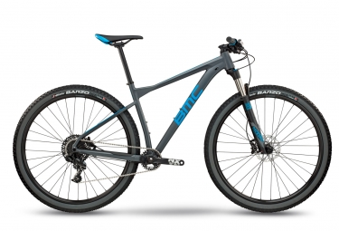 vtt semi rigide bmc 2018 teamelite 03 two sram nx 11v gris bleu xl 188 198 cm