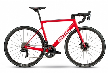 velo de route bmc 2018 teammachine slr01 disc team shimano dura ace di2 11v rouge bl