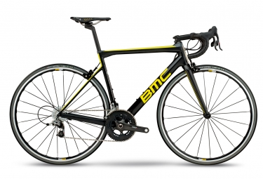 Velo de route bmc 2018 teammachine slr01 two sram red 11v noir jaune gris 54 cm 172