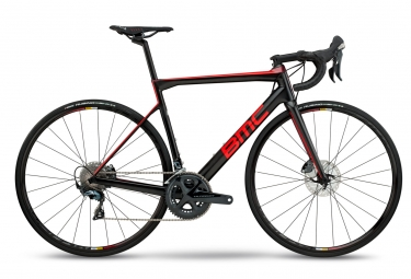 Velo de route bmc 2018 teammachine slr02 disc two shimano ultegra 11v noir rouge 56