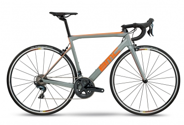 velo de route bmc 2018 teammachine slr02 one shimano ultegra 11v gris orange noir 51 cm 168 173 cm