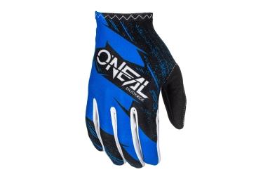 Gants Longs Oneal Matrix Burnout Bleu Noir