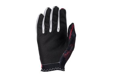 Gants Longs Oneal Matrix Burnout Rouge Noir