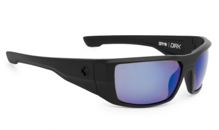 Lunettes spy dirk matte black happy bronze polar blue spectra
