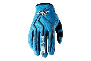 gants longs enfant oneal element bleu kid l