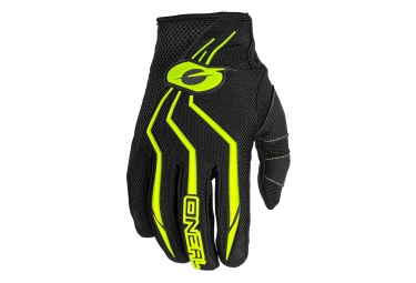 O'Neal Element Gloves - Noir / Jaune / Fluo
