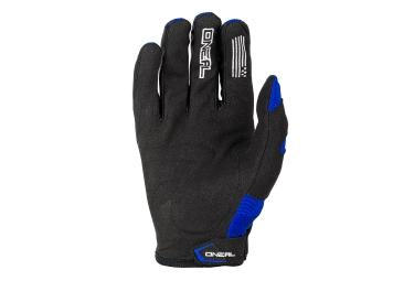Gants Longs Oneal Element Bleu Noir