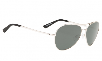 Lunettes spy whistler silver happy gray green
