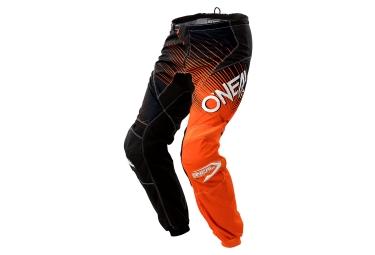 pantalon oneal element racewear orange noir 36