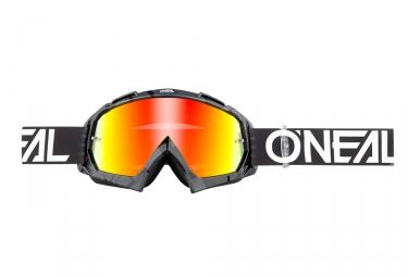 Máscara O'Neal B-10 Pixel black yellow Miroir