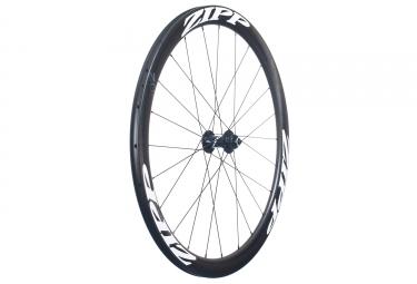 roue avant zipp 302 disc carbone a pneu qr 9 12 15mm noir blanc