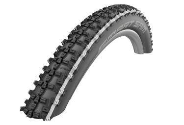 Pneu schwalbe smart sam 27 5 plus tubetype souple snakeskin double defense addix 2 60