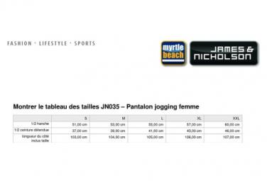 James et Nicholson Pantalon jogging femme - JN035 - gris chiné