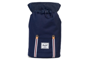 Sac à Dos Herschel Retreat Peacoat White Windsor 19.5L Bleu