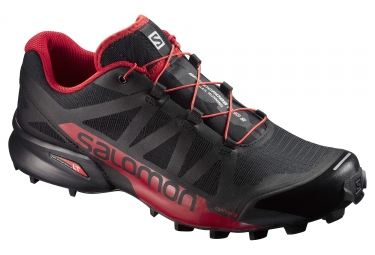 salomon speedcross pro 2 noir rouge 46 2 3