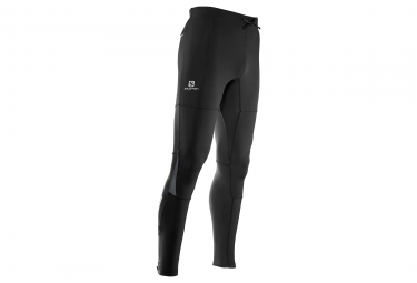 Collant salomon pulse warm noir s