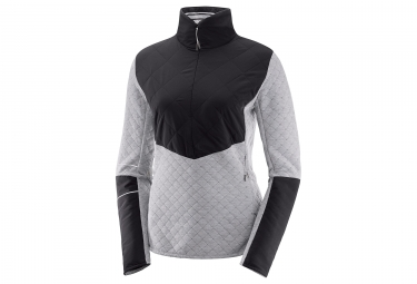 Salomon Elevate Warm HZ Women Jacket Grey Black