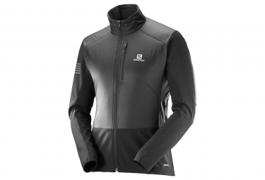 veste coupe vent salomon rs air noir s