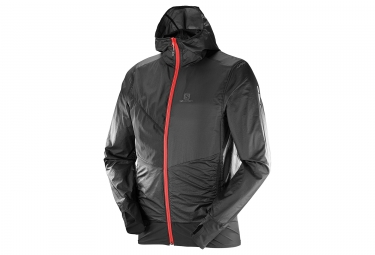 veste coupe vent salomon drifter air wind noir l