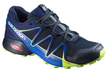salomon speedcross vario 2 bleu jaune 42 2 3