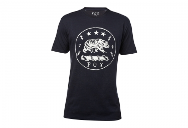 t shirt fox revealer bleu fonce l