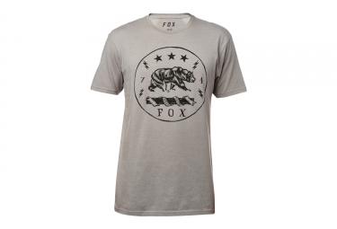 t shirt fox revealer gris m
