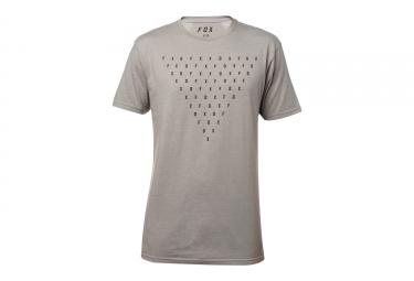 t shirt fox fantum gris m