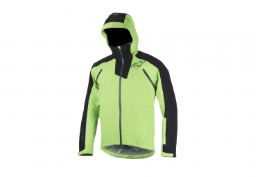 veste impermeable alpinestars all mountain 2 vert noir m