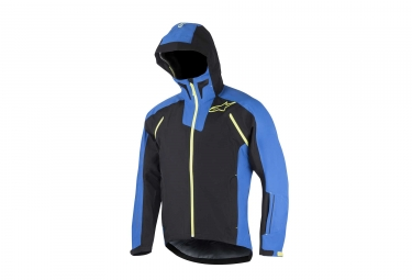 veste impermeable alpinestars all mountain 2 noir bleu s