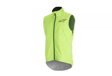 veste sans manches alpinestars descender 2 vert fluo noir l