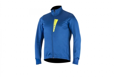 veste coupe vent alpinestars cruise shell bleu jaune fluo s