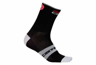 Castelli Rosso Corsa 9 Pair of Socks Black
