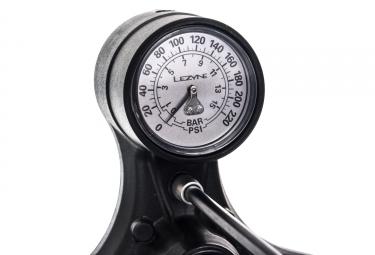 Pompe à Pied Lezyne Sport Floor Drive Tall ABS-1 Pro Noir