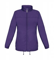 Betc coupe vent impermeable femme jw902 violet pourpre xs
