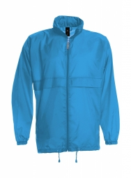 Betc coupe vent impermeable homme ju800 bleu atoll s