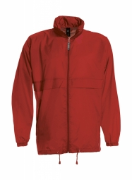 Betc coupe vent impermeable homme ju800 rouge s