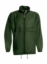 Betc coupe vent impermeable homme ju800 vert bouteille s