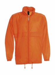 Betc coupe vent impermeable homme ju800 orange s