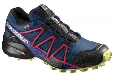 Salomon speedcross 4 gtx femme bleu rose 38