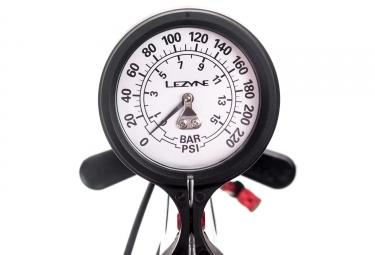 Pompe à Pied Lezyne Pressure Over Drive ABS-1 Pro Noir