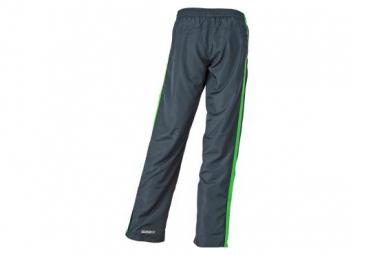 James et Nicholson pantalon running jogging JN489 - gris fer - vert - femme - course à pied